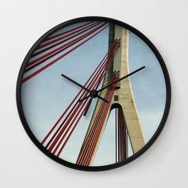 Bridge architecture Wall Clock