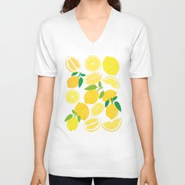 Lemon Harvest Unisex V-Neck