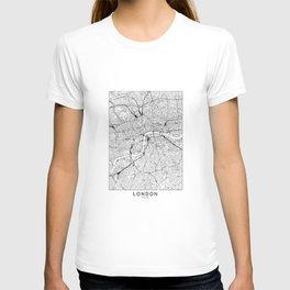 London White Map T-shirt