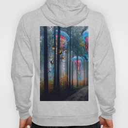 Forest of Super Electric Jellyfish Worlds Hoody