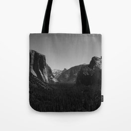 Tunnel View, Yosemite National Park IV Tote Bag
