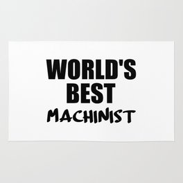 worlds best machinist Rug