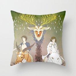 Mononoke Hime Throw Pillow