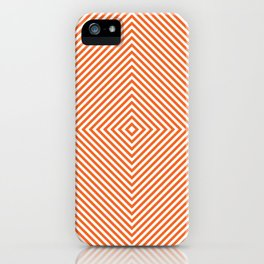 orange diamond iPhone Case