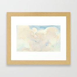 Clouds No. 2 Framed Art Print