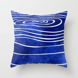 Tide X Throw Pillow
