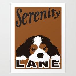 Serenity Lane Art Print