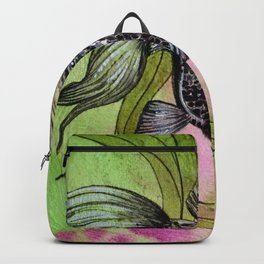 Moorfish on Green Backpack