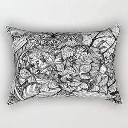 HORTENSIA WILDERNESS Rectangular Pillow