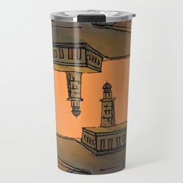 In Love with the Sea / Lighthouses Fuencaliente Travel Mug