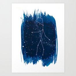 Virgo Zodiac Print Art Print