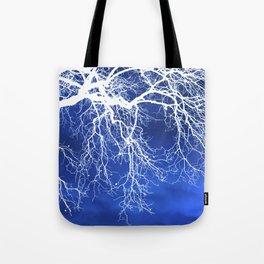 Weeping Tree Abstract Tote Bag