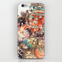 Spirited Away iPhone Skin