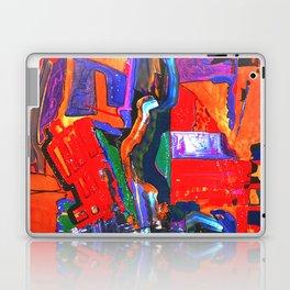 Metropolis Öl auf Leinwand Laptop & iPad Skin