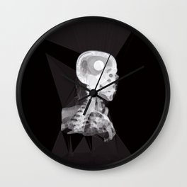 X-Rays and Triangles Wall Clock