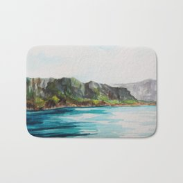 Napali Coast Dreaming Bath Mat