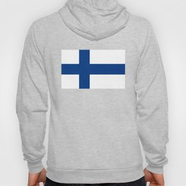 Flag of Finland - High Quality Image Hoody