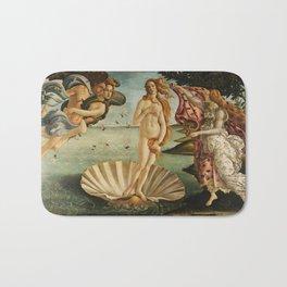 The Birth of Venus (Nascita di Venere) by Sandro Botticelli Bath Mat