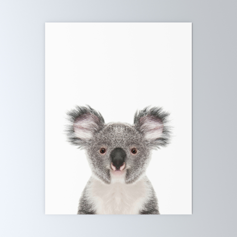 Koala Bear Mini Art Print By Lotusprintstudio Society6