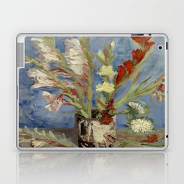 "Vincent Van Gogh ""Vase with Gladioli and Chinese Asters"" Laptop & iPad Skin"