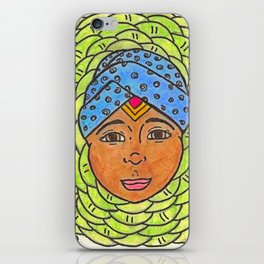 Cabbage Wrap Kid iPhone Skin