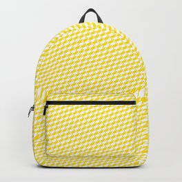 Baby Sharkstooth Sharks Pattern Repeat in White and Yellow Backpack