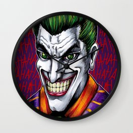Clown Prince Wall Clock