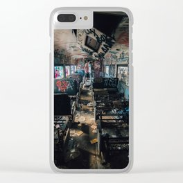 Abandoned Train Clear iPhone Case