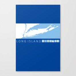 Long Island - New York. Canvas Print