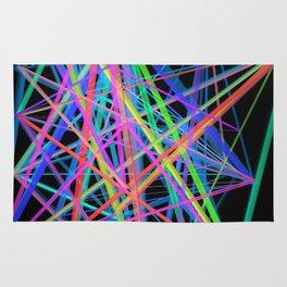 Colorful Rainbow Prism Rug