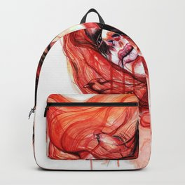 Metamorphosis-cardinal bird Backpack