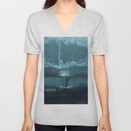 Building the Wall Unisex V-Neck