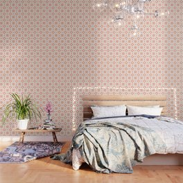 PATTERN 88 - BLOOMING DAHLIA Wallpaper