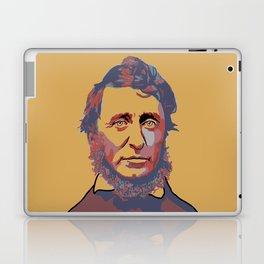 Henry David Thoreau Laptop & iPad Skin
