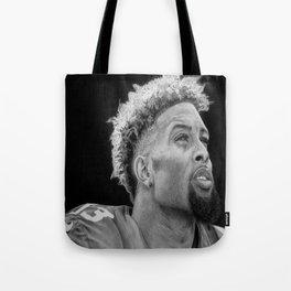 Odell Beckham Jr. Drawing Tote Bag