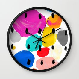 Bernard Pattern Wall Clock