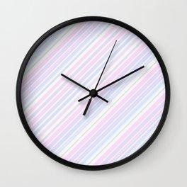 Just Stripes 6 Wall Clock