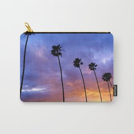 """""""Butterfly Beach Palms"""" Sunsets Carry-All Pouch"""