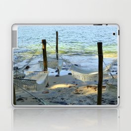 Beach Hammocks Laptop & iPad Skin