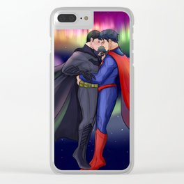 SuperBat - Dance Clear iPhone Case