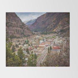 Ouray Colorado Throw Blanket