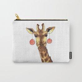 Girafe de Noël Carry-All Pouch