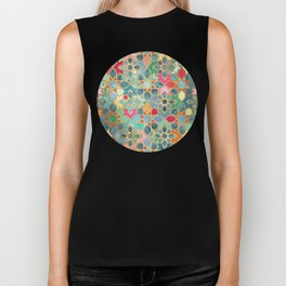 Gilt & Glory - Colorful Moroccan Mosaic Biker Tank