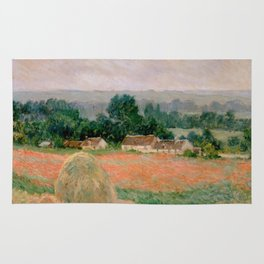 Haystack at Giverny Rug