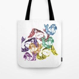 Mermaid swirl Tote Bag