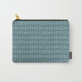 Arrows on Horizon Blue Carry-All Pouch