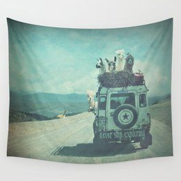 NEVER STOP EXPLORING II SOUTH AMERICA Wall Tapestry