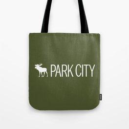 Utah: Park City Moose Tote Bag