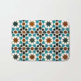 Moorish tiles Bath Mat