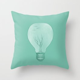 Ideas Grow 2 Throw Pillow
